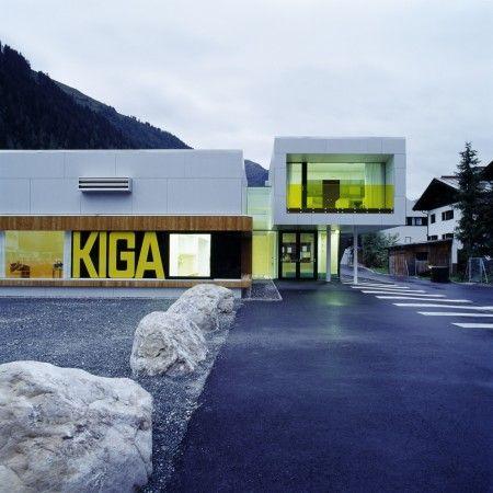 Kiga Kindergarten in Austria | Signage and branding