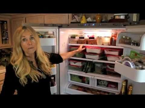Talk about healthy this 71 year old woman is amazing. In this video she shows you her refrigerator.