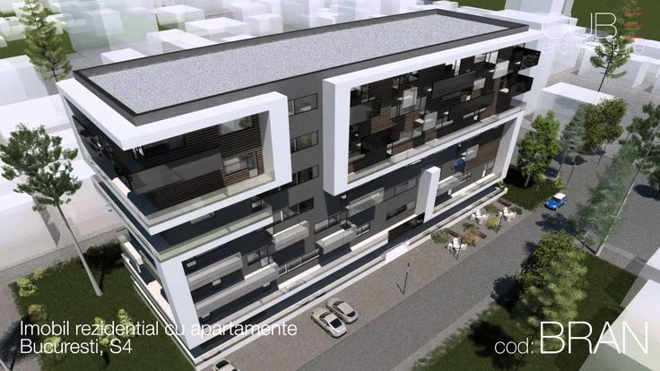 Imobil rezidential cu apartamente Bucuresti, S4