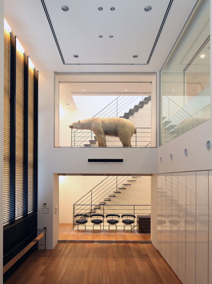 Katayama designed both the architecture and interior design of his new office for Wonderwall. The three story high building with additional two floors below ground was designed based on Katayama's idea of what he considers basic and standard. In designing this office, functionality, vertical continuity, and a certain sense of tension were key elements that was important to Katayama while it also needed to posses the identity of his firm and be an exhilarating space for him to work in. Such…