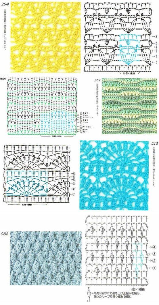 67 Best Images About Crochet Stitch Chart On Pinterest