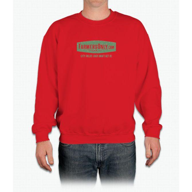 Farmers Only (green logo) Crewneck Sweatshirt