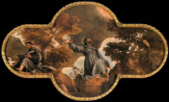 Saint Francis in Ecstasy:  ca 1582