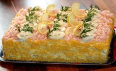 Sandwich cakes - Go to this site for ideas for different varieties of sandwich cakes.  What a super party idea!!!
