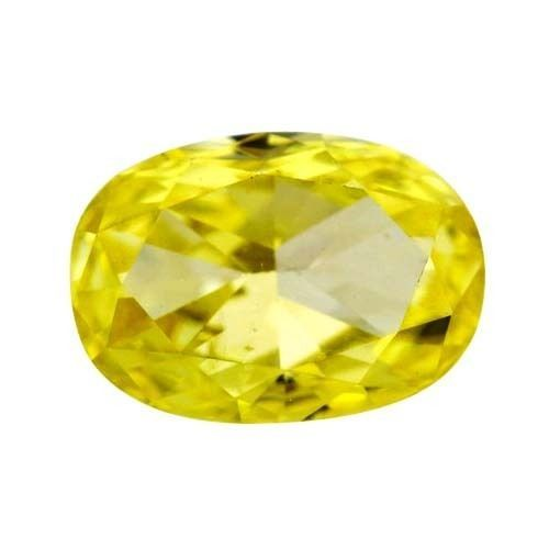 0.42 carat VVS1 Best Clarity Oval Shape Solitaire Loose Canary Yellow Diamond #Diamondzul #OvalShapeDiamonds #Diamonds #yellowDiamonds