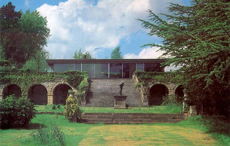 Capel Manor House, The Manser Practice #house #steel #glazing #modern #crisp #elegant #minimal #classic
