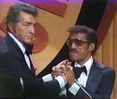 December 18, 1974. Dean Martin tapes the Celebrity Roast of Sammy Davis.