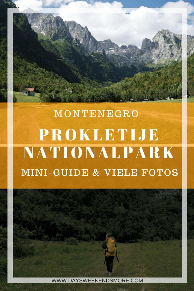 Der Prokletije Nationalpark in Montenegro - Infos zur Reiseplanung & Wandertipps