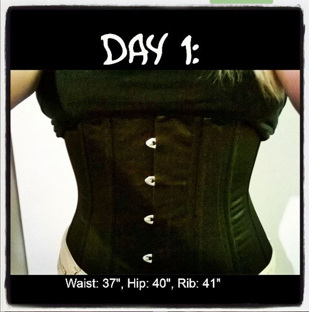 Plus size waist training diary and reviews