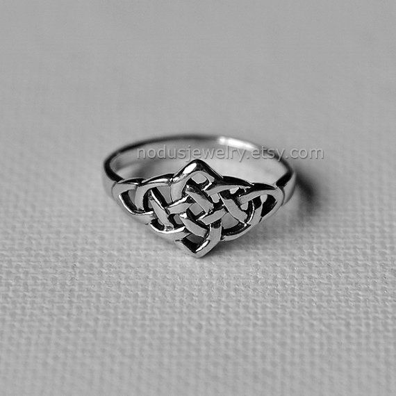 Celtic knot ring, Nodus                                                                                                                                                                                 More  https://lfsoxford.co.uk