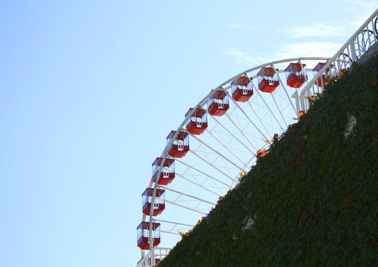 Chicago, Ferris Wheel at Navy Pier   Travel photography di TheItalianWanderer su…