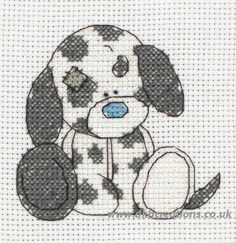 Tatty teddy my blue nose friends cross stitch | Tatty Teddy My Blue Nose Friends Splodge
