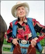 At Connie Reeves was still riding her horse every day. Cowboy Up, Cowgirl Chic, Cowboy And Cowgirl, Cowboys And Angels, Into The West, Old Age, Advanced Style, Young At Heart, Style