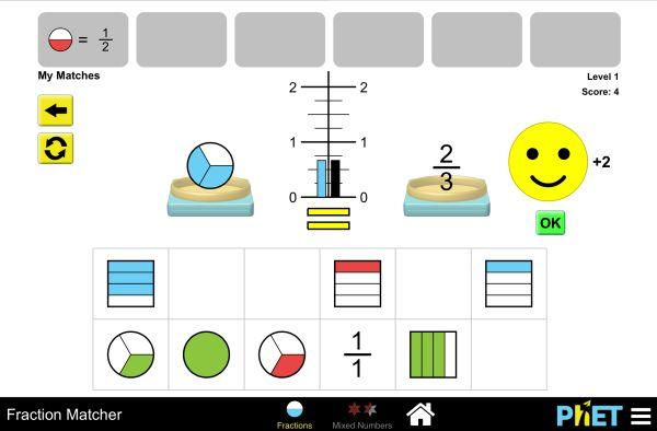 Fraction Matcher Screenshot