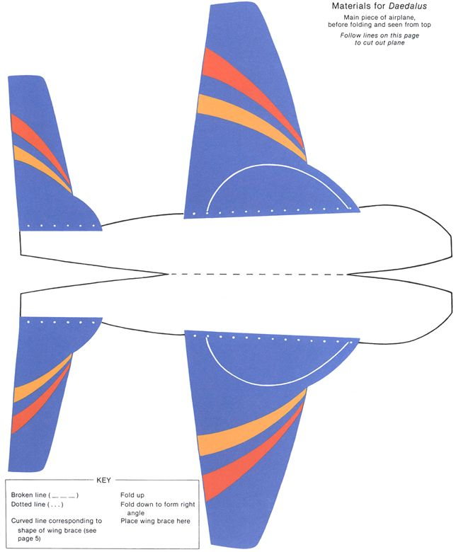 airplane cut out template - 17 best images about papercraft on pinterest html