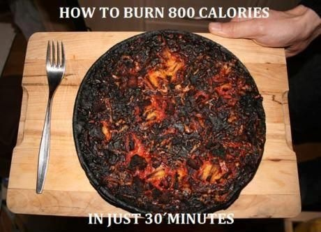 how to burn calories fast :)
