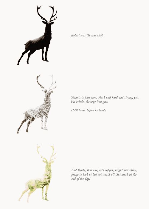 Baratheons - Agree but I think that Renly would have been a kind and good king.