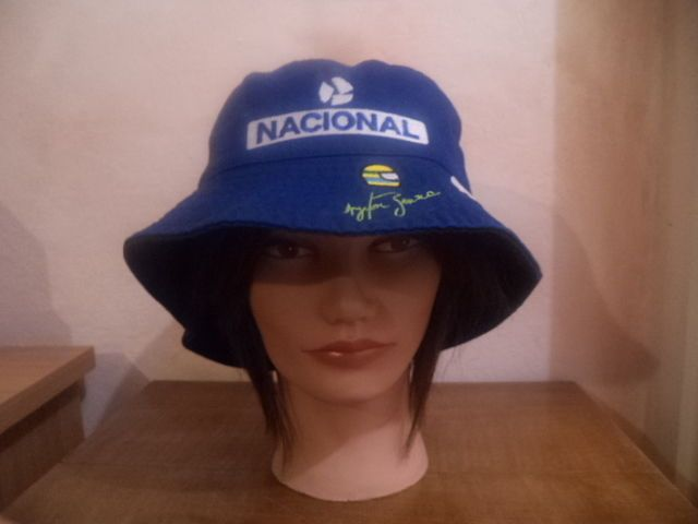 AYRTON SENNA NACIONAL WILLIAMS RENAULT F1 CIGARETT TOBACCO BUCKET CAP HAT