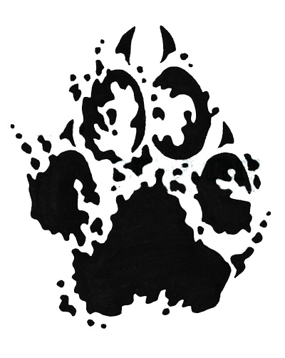 Muddy Paws Coloring Pages