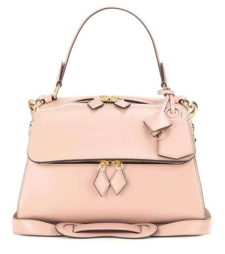 Borsa a mano Victoria Beckham - Handbag rosa cipria dalla collezione primavera estate 2017.