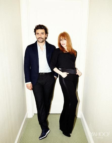 Exclusive: Jessica Chastain & Oscar Isaac on A Most Violent Year   Jessica Chastain and Oscar Issac