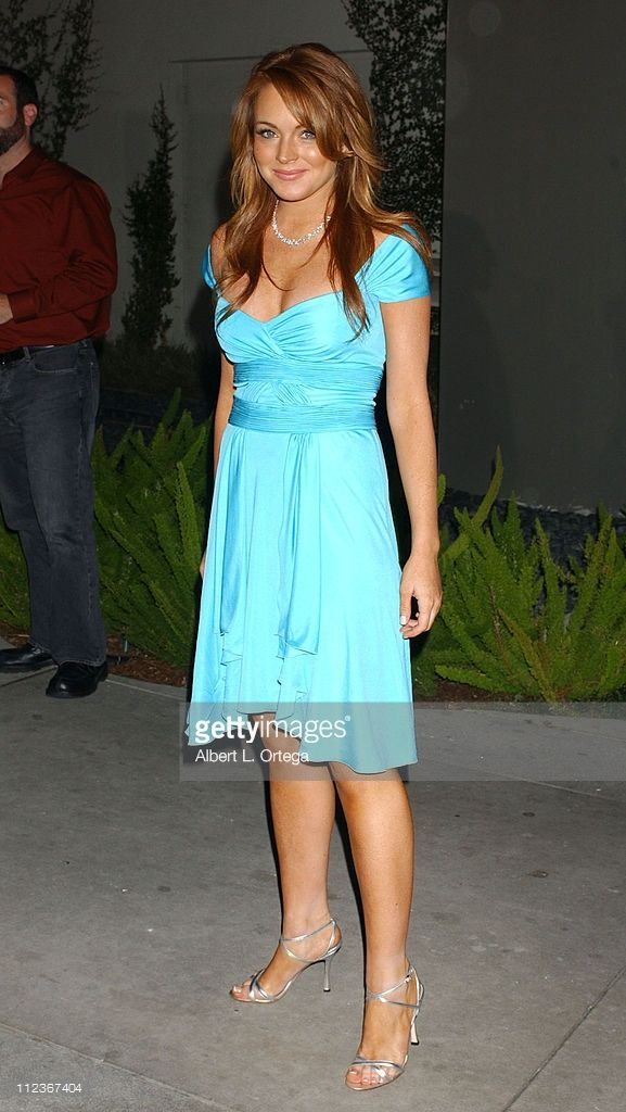 News Photo : Lindsay Lohan during 'Mean Girls' World Premiere...