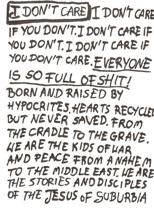 Jesus of Suburbia - Green Day #lyrics