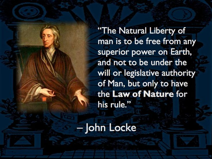 the nature law of john locke The law of nature has no person to overlook its enforcement because everyone serves as the judge, jury and executioner therefore, there is a need for another important element of locke's theory of natural rights is that it bears the name natural according to locke, those rights are natural because.
