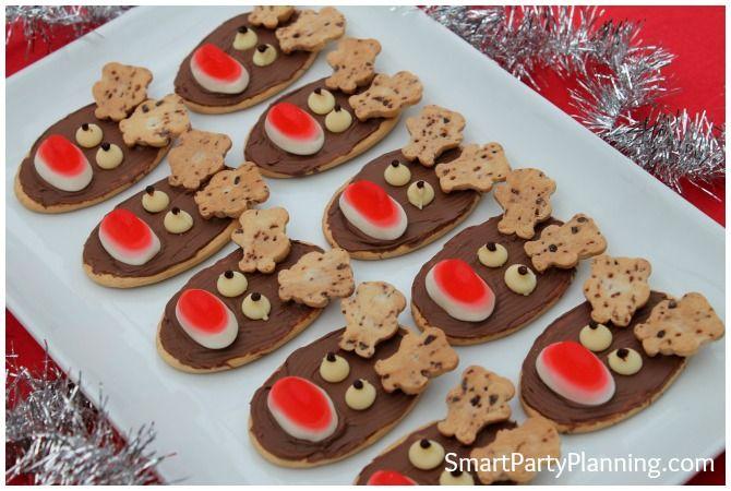 Christmas Reindeer Cookies #ReindeerCookies #Christmas