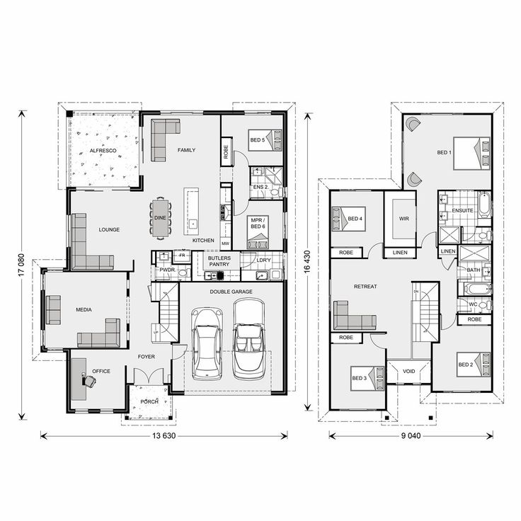 745 Best Images About Plans And Elevations On Pinterest