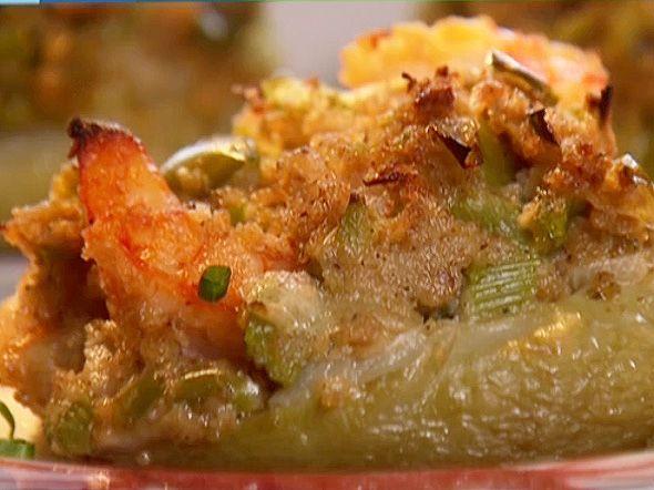 Shrimp Stuffed Mirliton Recipe