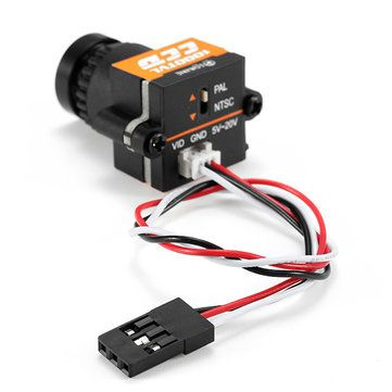 Eachine 1000TVL 1/3 CCD 110 Degree 2.8mm Lens Wide Voltage 5-20V Mini FPV Camera NTSC PAL Switchable Sale - Banggood.com
