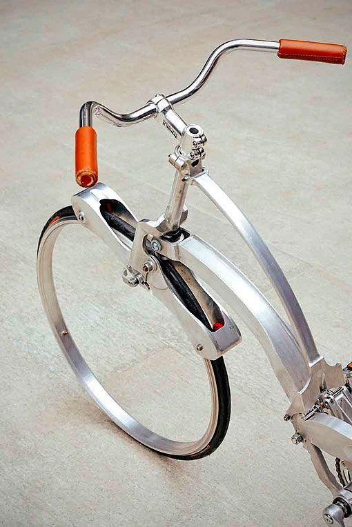 Rueda de la bicicleta portátil más plegable del mundo
