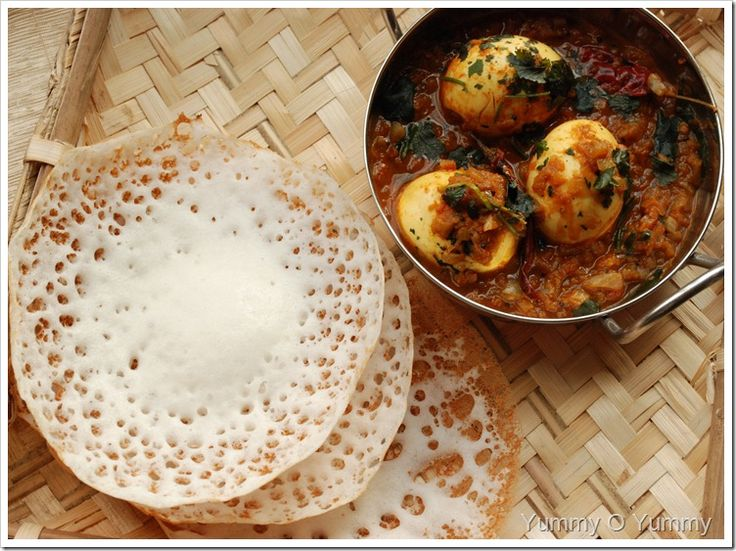 Ingredients (Makes about 30 appams) 1. Rice flour – 2 cups (Raw rice flour is usually used for making palappams, but you can also use roasted rice flour. We have used roasted rice flour here.) 2. Yeast –...