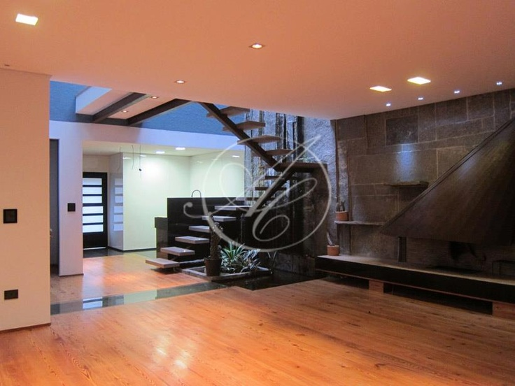 Living Room + Stairs
