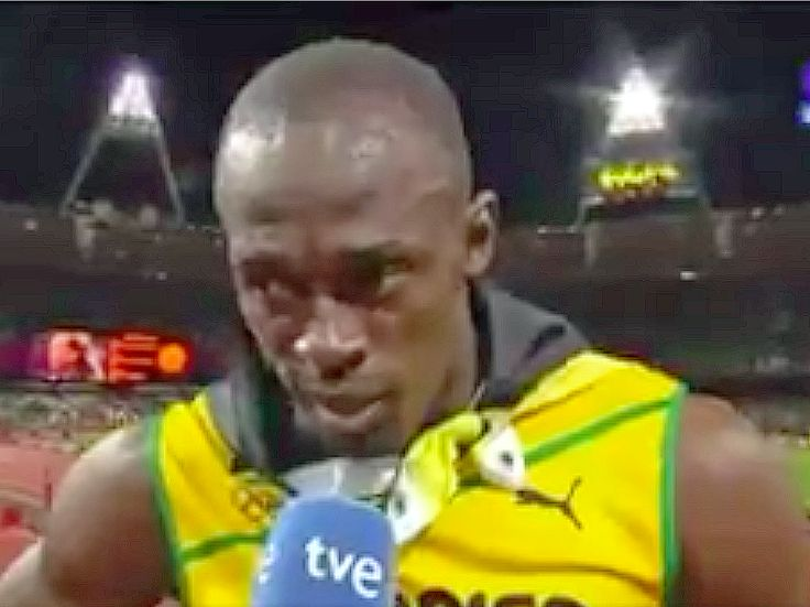 Trump tweets video of Olympic gold medalist Usain Bolt pausing for the US national anthem