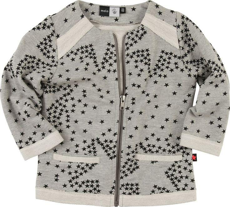 molo sweat jacket with star print