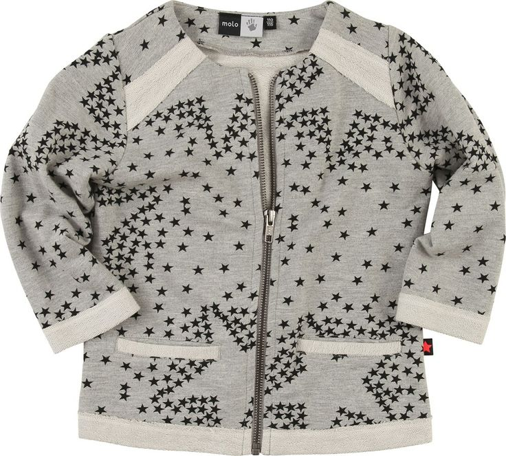 molo sweat jacket with star print
