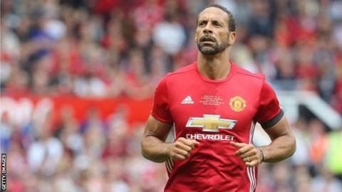 "Rio Ferdinand appeared at Old Trafford in former team-mate Michael Carrick's testimonial in June  Rio Ferdinand is launching a new career as a professional boxer two years after he retired from football.  The 38-year-old's move into the ring is being backed by betting company Betfair which announced the news on Tuesday. Former Manchester United and England defender Ferdinand works as a TV pundit and he has his own clothing line. ""I'm doing this because it's a challenge"" he said. ""I've won…"