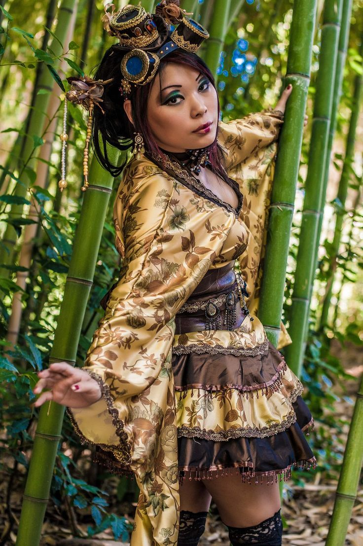 Japanese Steampunk by Sunymao.deviantart.com on @DeviantArt