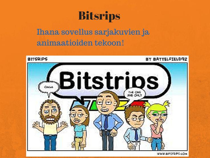 Bitsrips Ihana sovellus sarjakuvien ja animaatioiden tekoon!