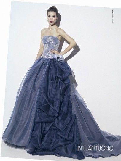 Idee abiti da sposa colorati 2014 - Bellantuono