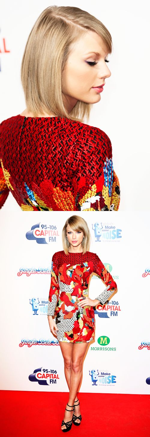 Taylor Swift - Capital FM Jingle Bell Ball 2014 - London, England - December 07, 2014.