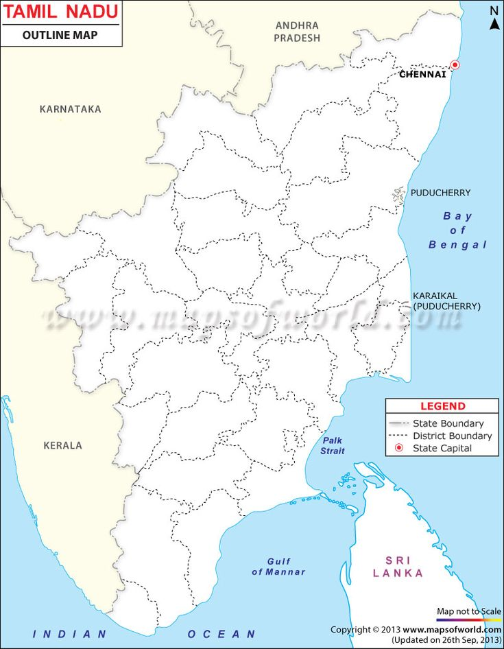 36 best tamilnadu map images on pinterest cards chennai and india map tamilnadu outline map blank map of tamilnadu state in india showing districts boundary state boundary and capital gumiabroncs Image collections