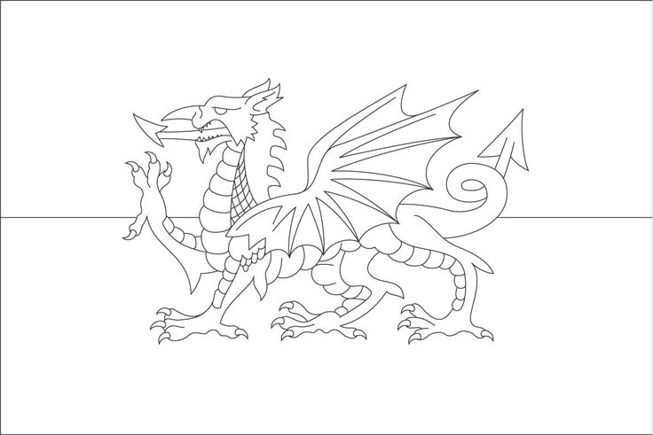 Dragon Coloring Pages Welsh Flag Colouring Page Reviews And Photos Flag Coloring Pages Dragon Coloring Page Coloring Pages