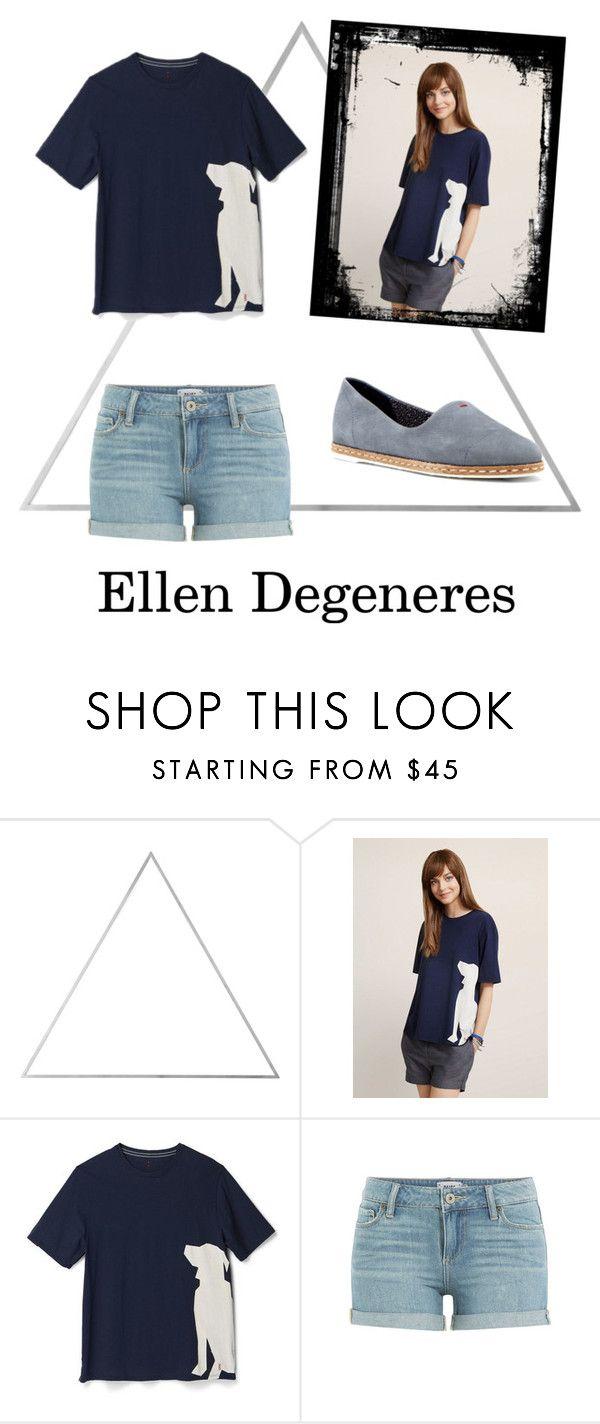 """I love Ellen Degeneres's clothing line"" by emitschelen ❤ liked on Polyvore featuring Menu, Paige Denim and ED Ellen DeGeneres"