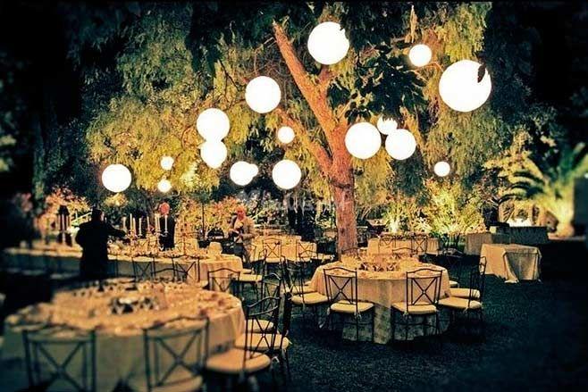 Iluminaci n de eventos en exteriores un arte que marca la - Decoraciones de exteriores ...