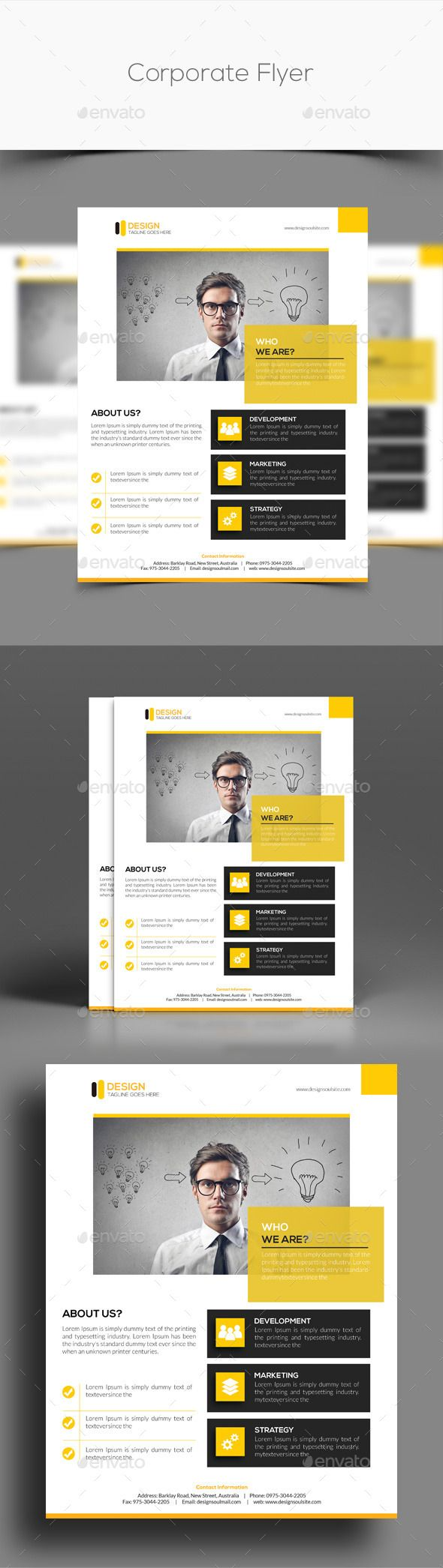 Corporate Flyer Template. Download…
