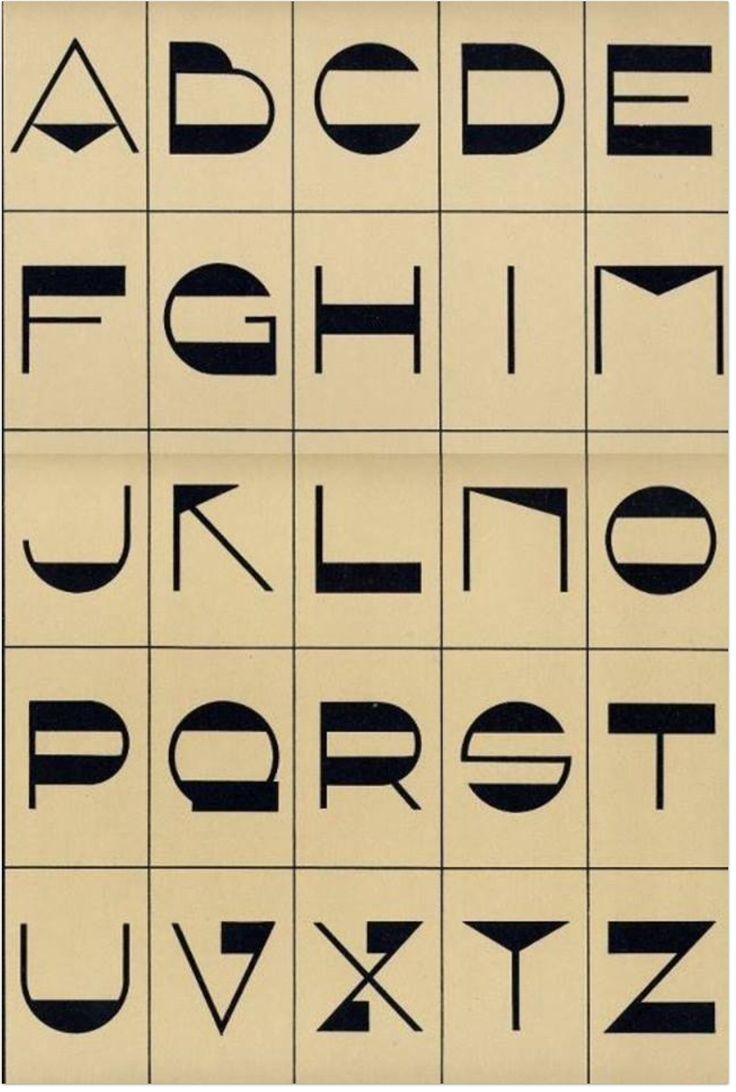 Vintage Art Deco font set