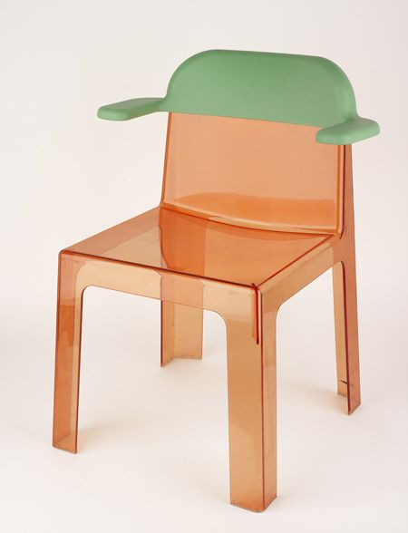 Trono Chair by #Sottsass Associati for #Segis. Find more details on: http://www.segis.it/en/products/Trono/